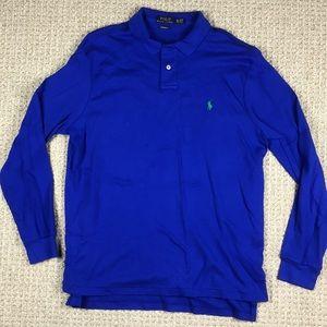 Polo Ralph Lauren blue Long Sleeve Polo Shirt XL